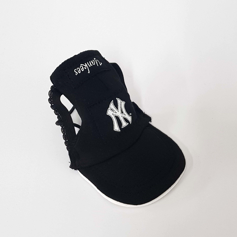 New York Yankees Baseball Hats Yankee Dog Cap Dog Hat Beaniesyankees Pet Visor Dog Tag Free Shipping By Mil Dog Hat Pet Fashion New York Yankees Baseball