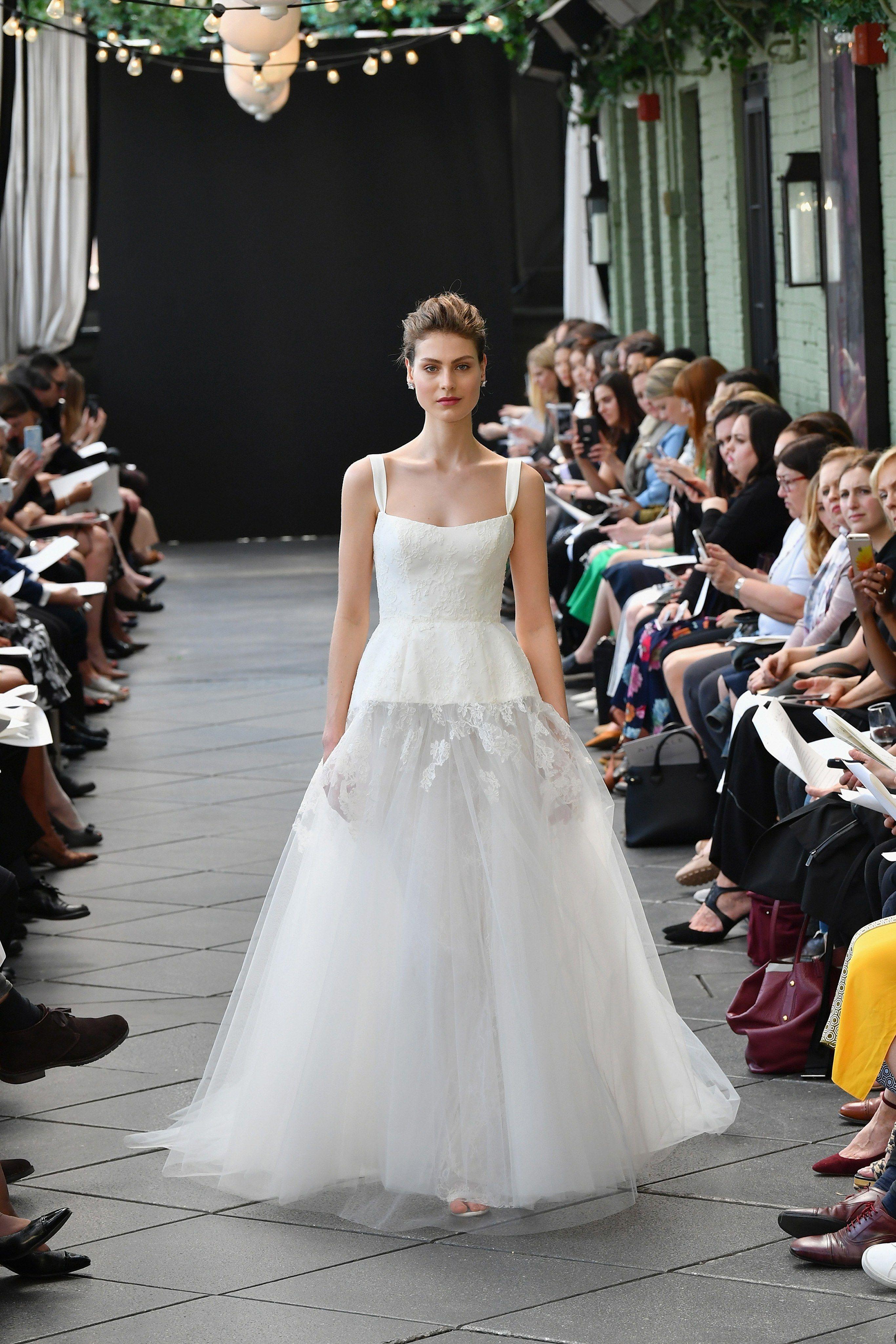 Amsale Bridal Spring 20 Fashion Show   Amsale wedding dress ...
