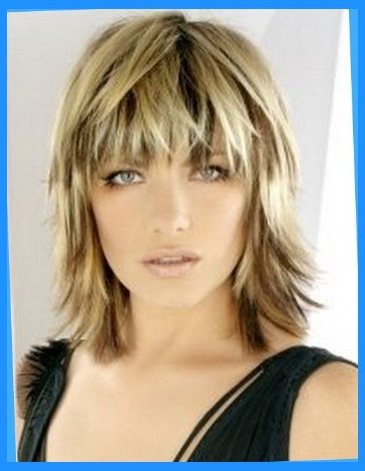 Medium Length Shag Hairstyles In Medium Length Shag Haircut 2018