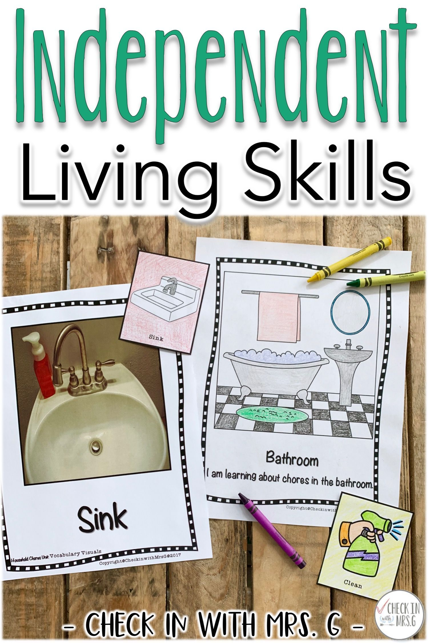 Independent Living Skills Curriculum Teach Teens In Your Special Education Classroom About Living On Life Skills Curriculum Life Skills Classroom Life Skills
