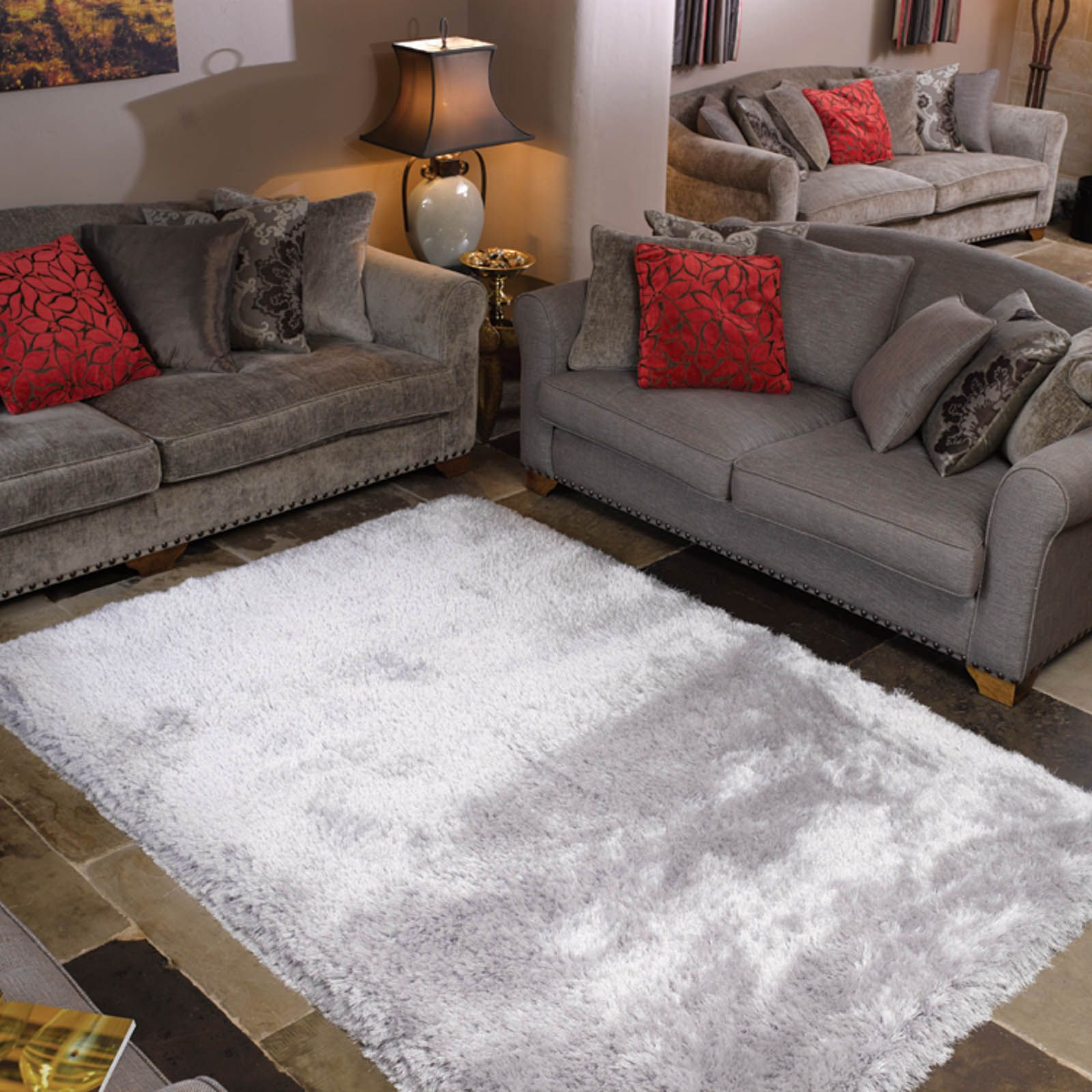 Pearl Gy Rugs In Silver