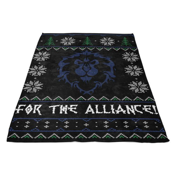 For the Alliance - Fleece Blanket
