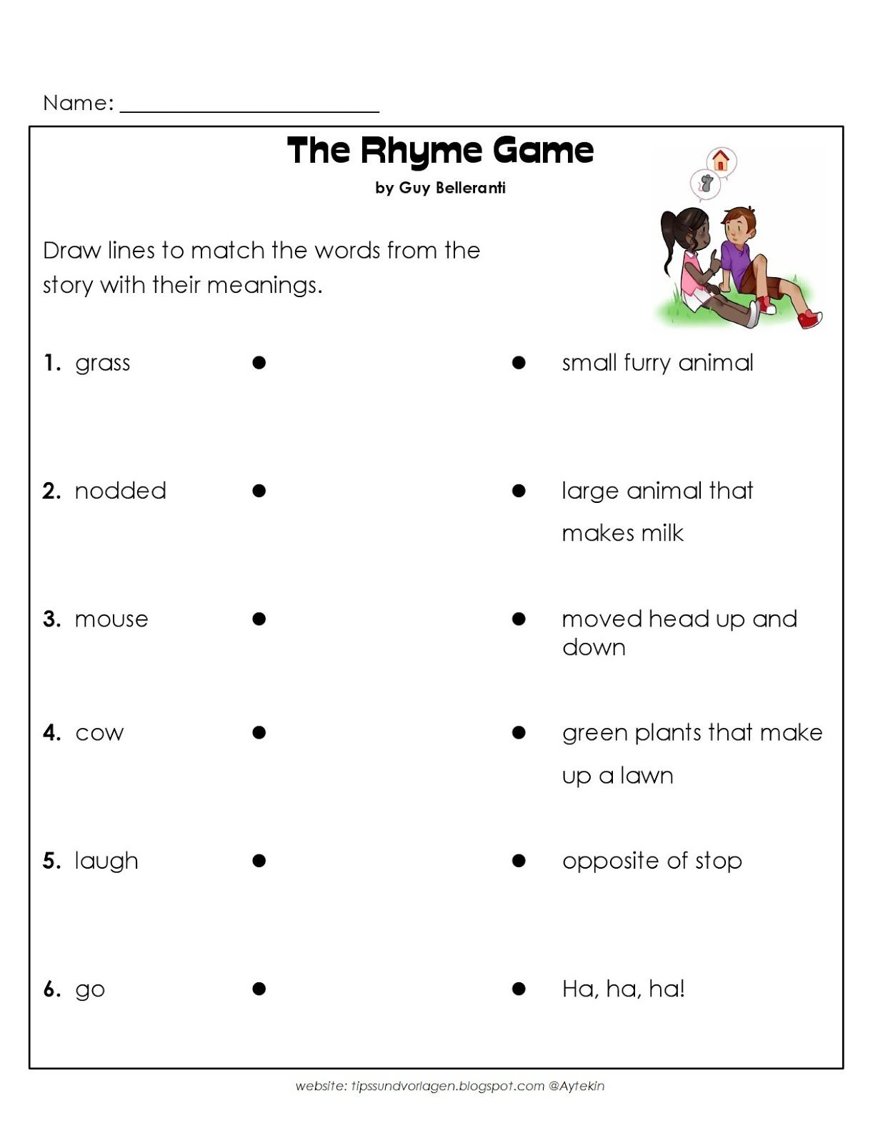 1st Grade English Worksheets Kindergarten writing