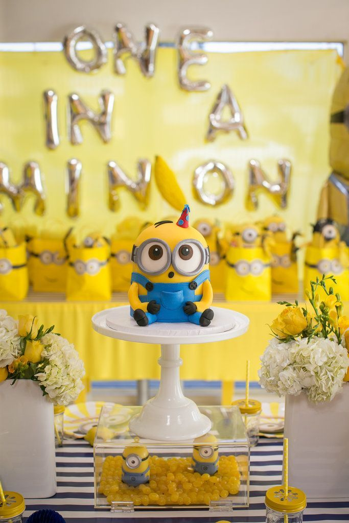 One in a Minion Birthday Party Will Have Your Kiddo Going Bananas Celebrate in true Gru style with a minion birthday party that will make your child go bananas!Birthday Party  A birthday party is a party to celebrate the anniversary of someone's birth.