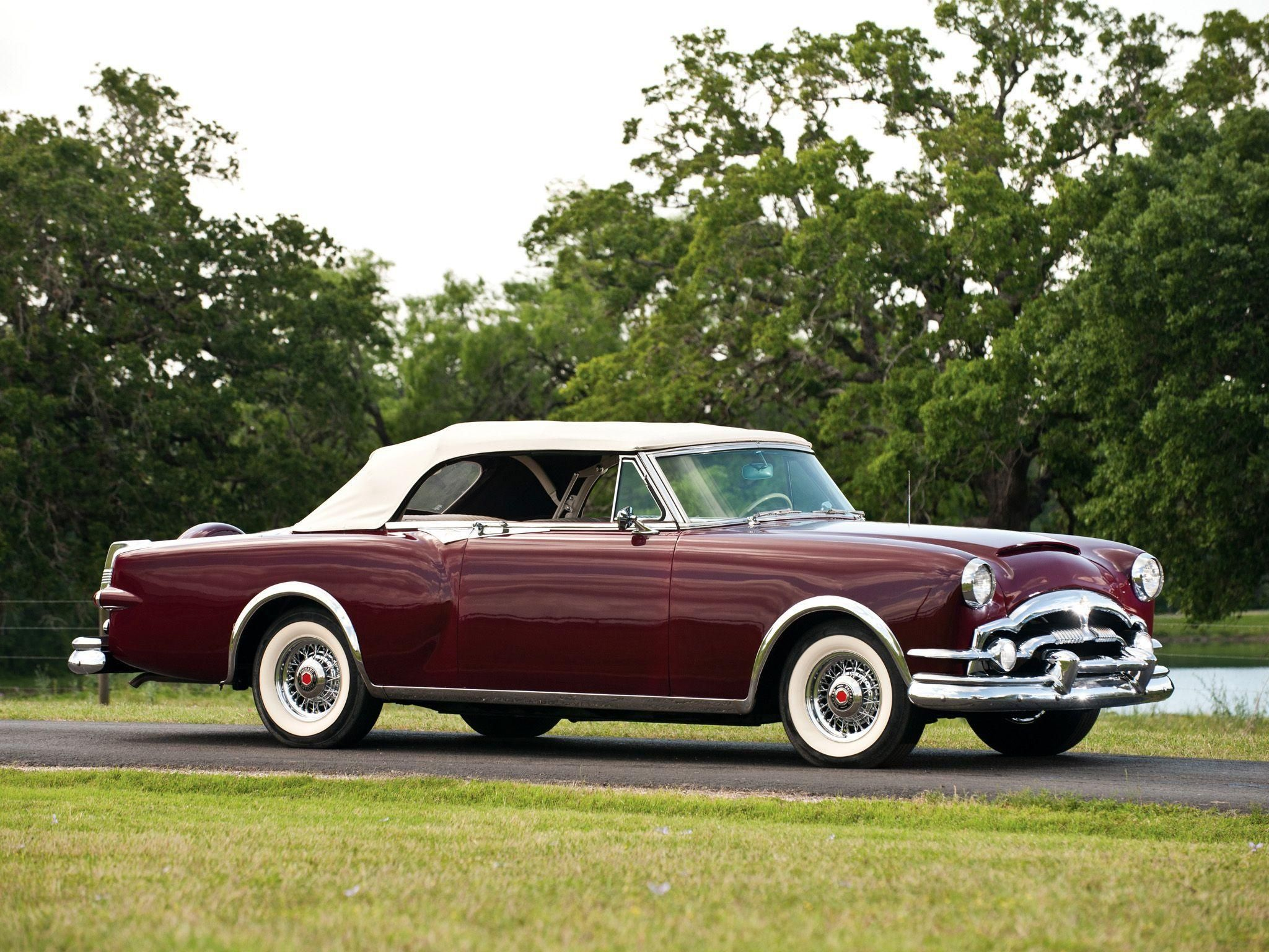 1953 Packard Caribbean Convertible Coupe Packard Cars Vintage Cars Classic Cars Vintage