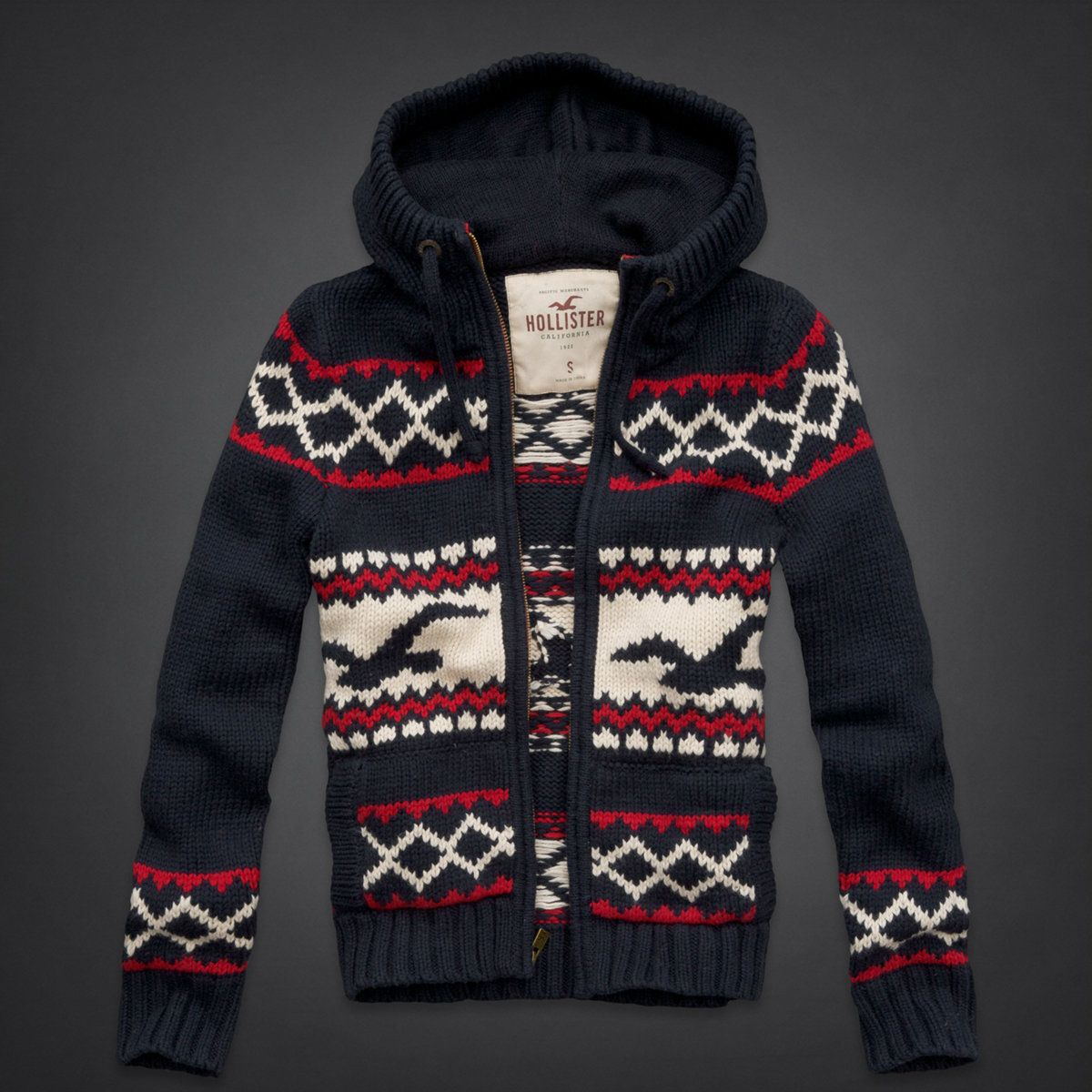 Men's Christmas Sweaters From Hollister | Gifts For Men ...