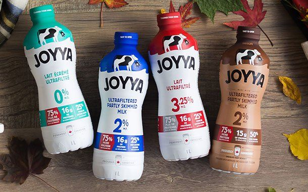 Saputo Launches Ultra Filtered Milk Brand Joyya In Canada Milk