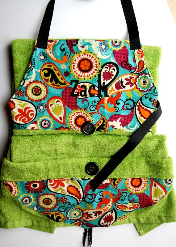 Baby bath apron baby hooded towel baby shower gift ideas by baby bath apron baby hooded towel baby shower gift ideas by melissasstitches 3800 negle Image collections