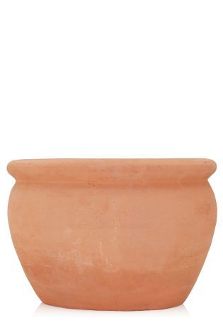 Buy Shallow Terracotta Pot From The Next Uk Online Shop