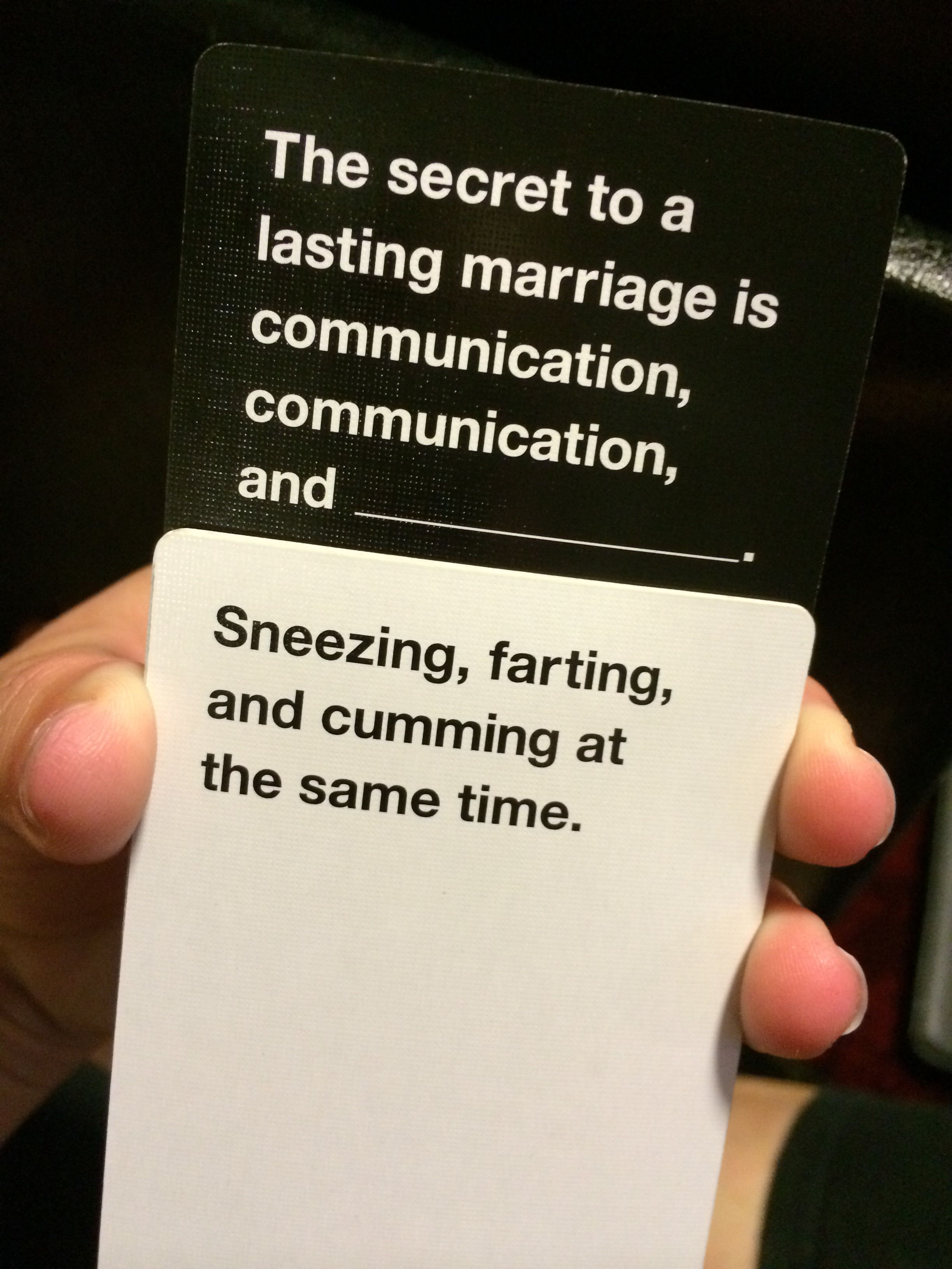 The best Cards Against Humanity hahaha Best cards