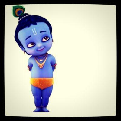 Little Baby Krishna So Adorable I Little Krishna Baby Krishna Cute Krishna
