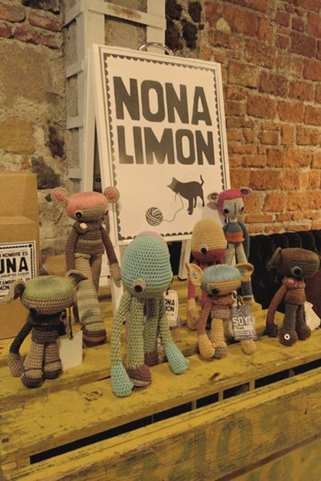 """""""nonalimon / crochet / amigurumi / diy / crafts / bazar / feria"""" #Amigurumi  #crochet"""