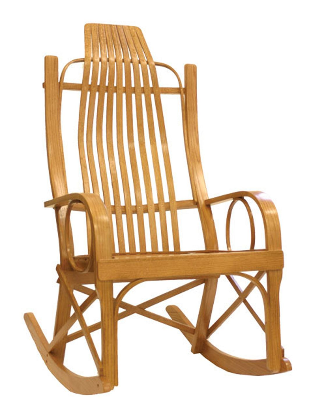 Amish Rocking Chair Amish Solid Oak Bentwood Rocking Chair Rocking Chair Rocking