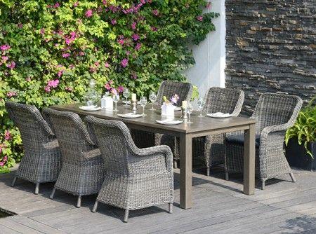 ALEXIS Table + SACRAMENTO Chair