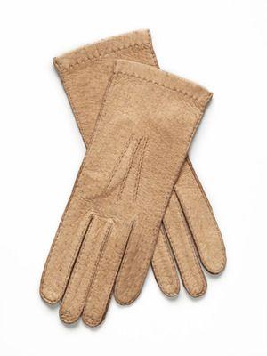 #Maison Fabre Short Peccary #Gloves