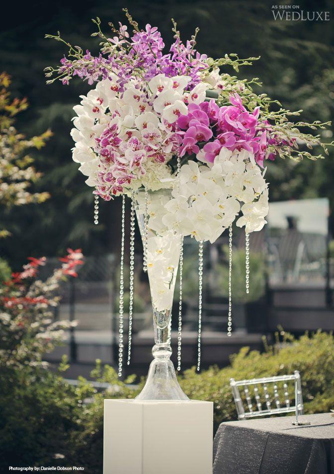 Lori & Greg Wedding centerpieces Flower arrangements