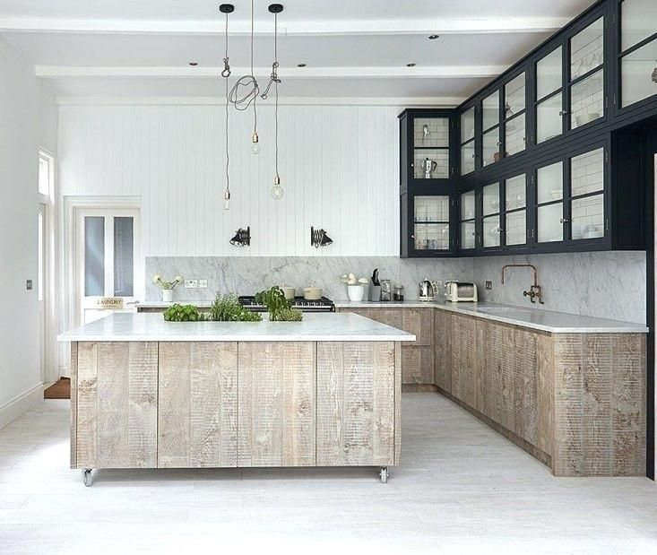 Image Result For White Washed Maple Cabinet
