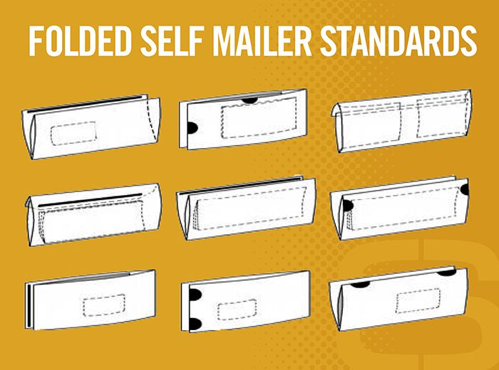 File Prep Tools Is Your Direct Mail Piece A Folded Self Mailer This How To Guide Helps Ensure Your Piece Adheres To Usps Reg Self Mailer Mailer Design Mailer