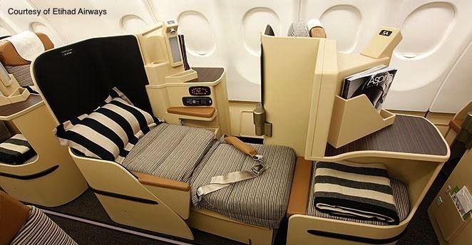 Etihad Airways Business Class On Jet Airways Classe Executiva