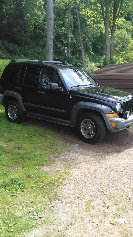 Car Brand Auctioned Jeep Liberty Renegade Sport Utility 4 Door