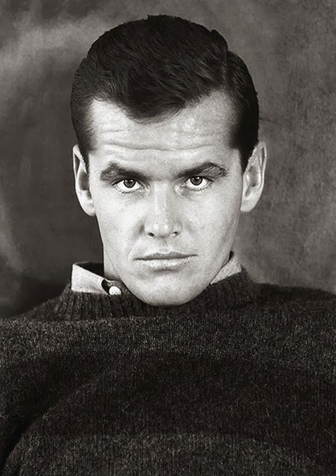 A young Jack Nicholson looking intense. 1960s | Jack ...