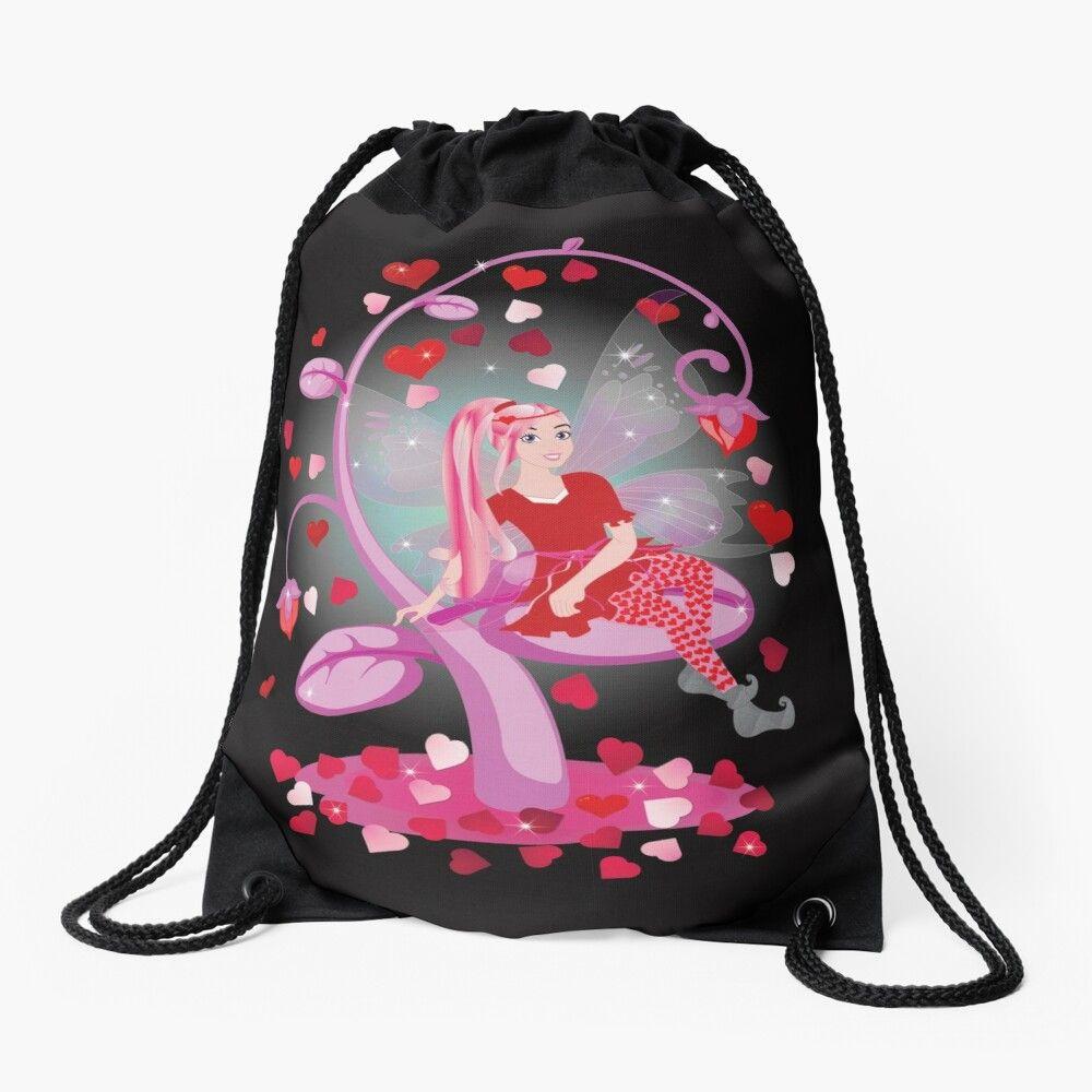 Drawstring Backpack Love Dinosaur Rucksack
