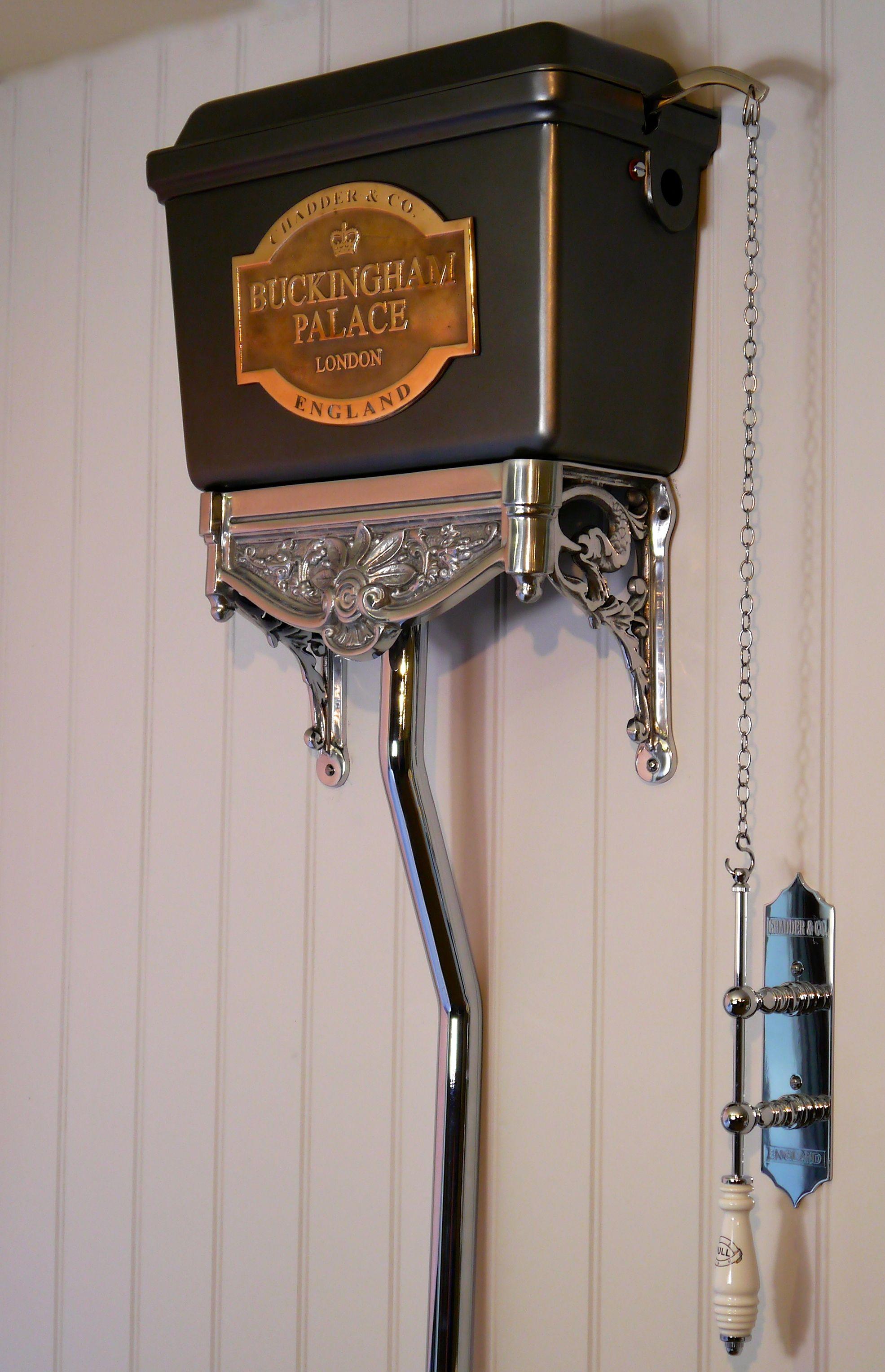 High Level Chadder Blenheim Toilet Bespoke Cistern
