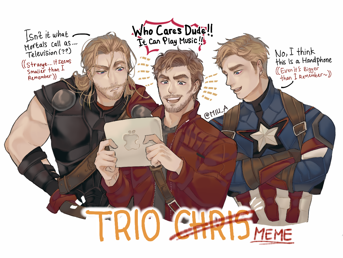 Thor,Peter Quill (Star-Lord