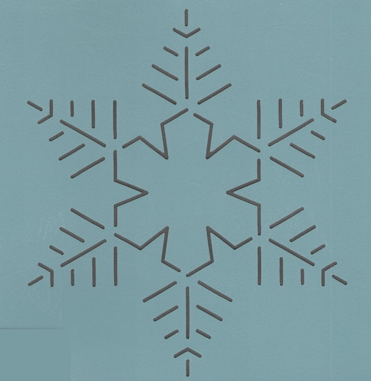 """snowflake template for quilting  Snowflake #7- 7"""" 