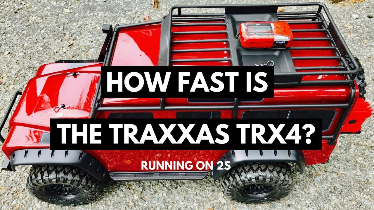 How Fast Is The Traxxas TRX4 Rock Crawler - 2S Top Speed