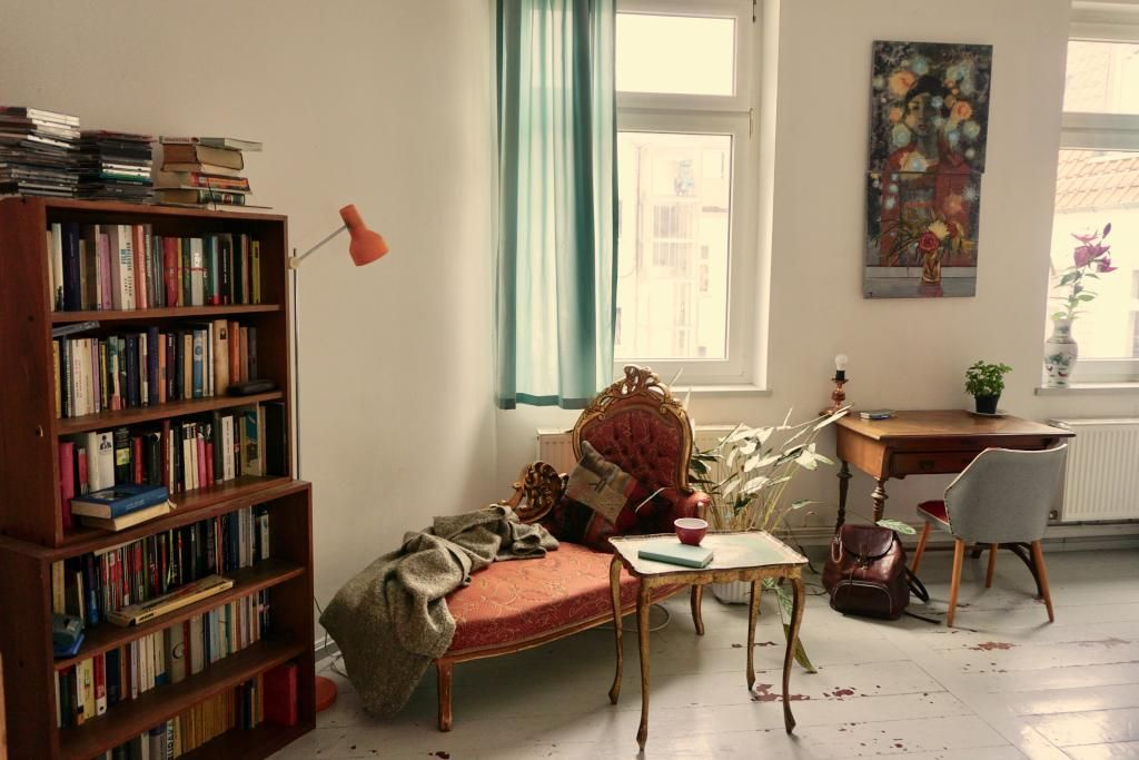 Leseecke im Vintage #Vintage #wohnen #Leseecke #Zimmer #Einrichtung