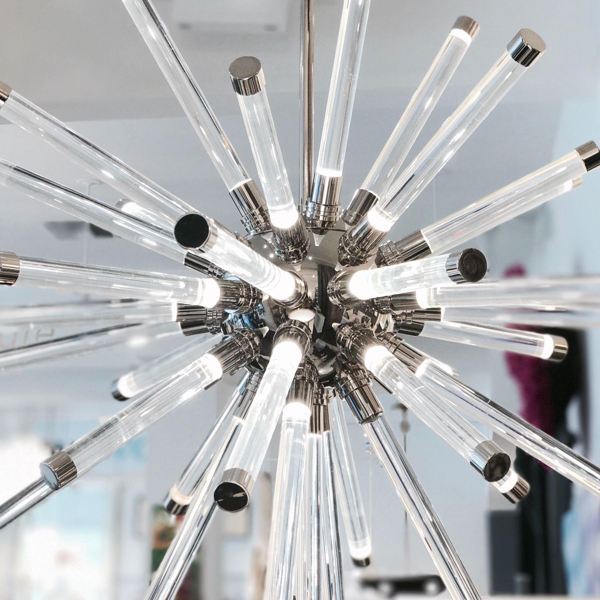 The Jonathan Adler Jacques Sputnik Chandelier is an exploding