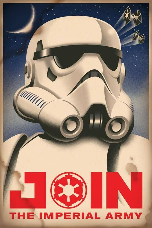 Star Wars Saga Imperial Army Recruitment Poster Star Wars