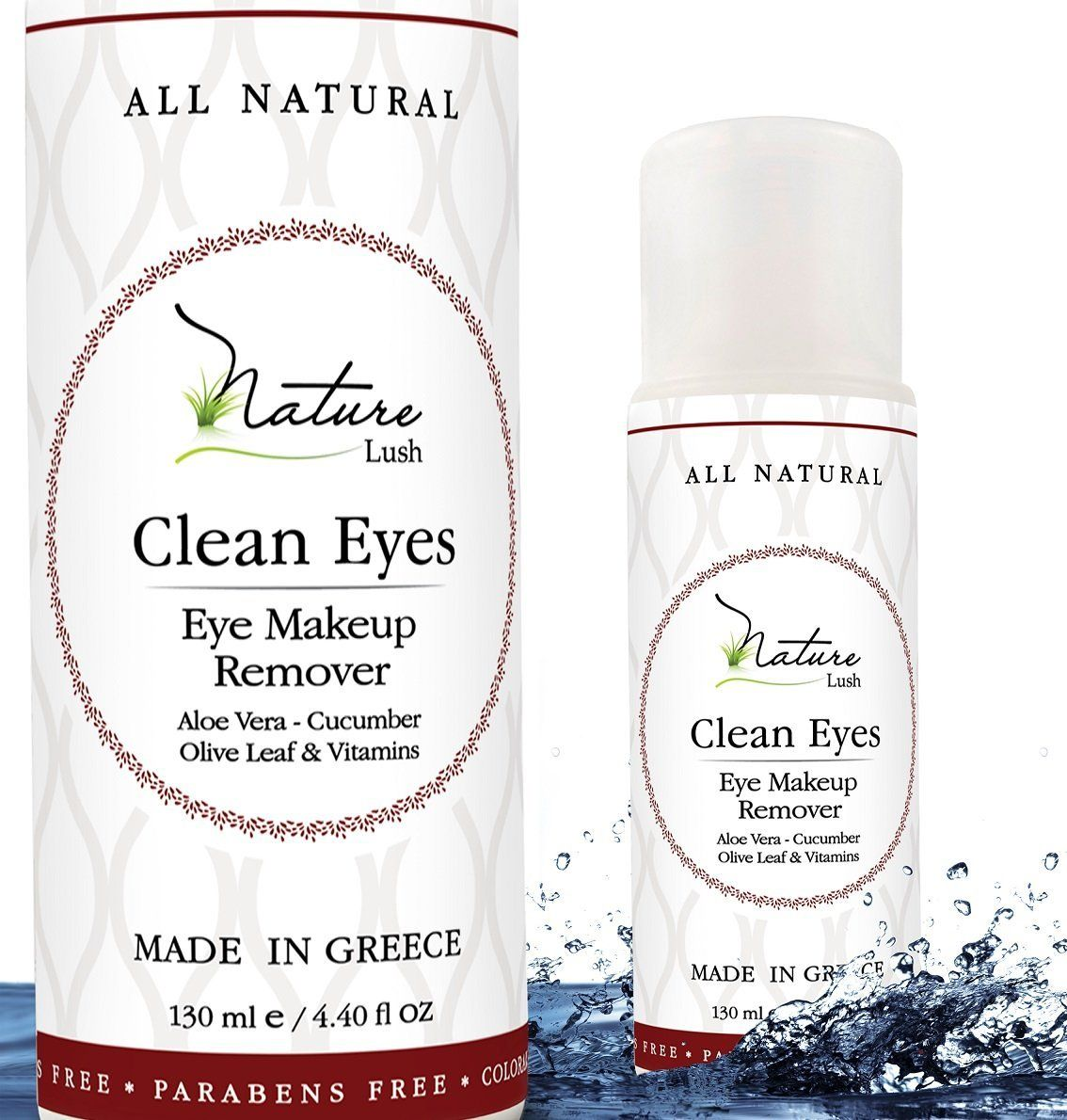 The Best Natural Eye and Face Makeup Remover Oil Free