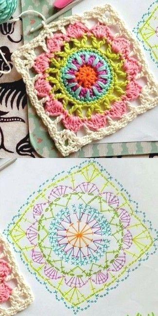Delicadezas en crochet Gabriela: Más de 100 patrones de grannys | Is ...