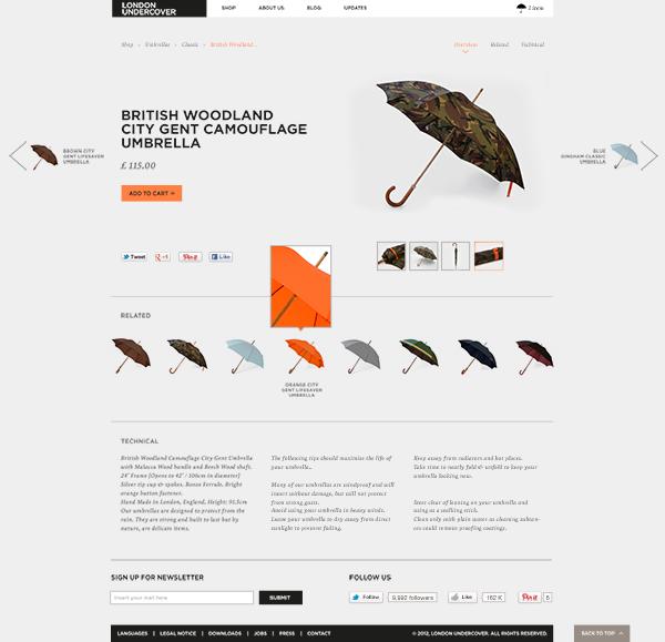 London Undercover / Digital Concept by Davide Ceriotti, via Behance