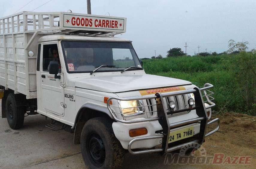 Mahindra Pick Up Bolero Maxi Truck With Images Mini Trucks