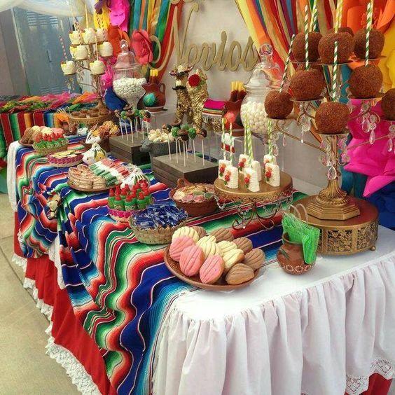 Ideas para fiestas tem tica mexicana decoracion fiesta - Ideas decoracion fiestas ...