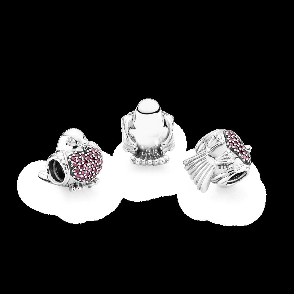 cc55c1077 Red Robin Charm - Pandora UK | PANDORA eSTORE | Jewelry | Pandora uk ...