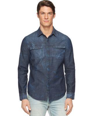 Calvin Klein Jeans Reverse Vapor Denim Shirt