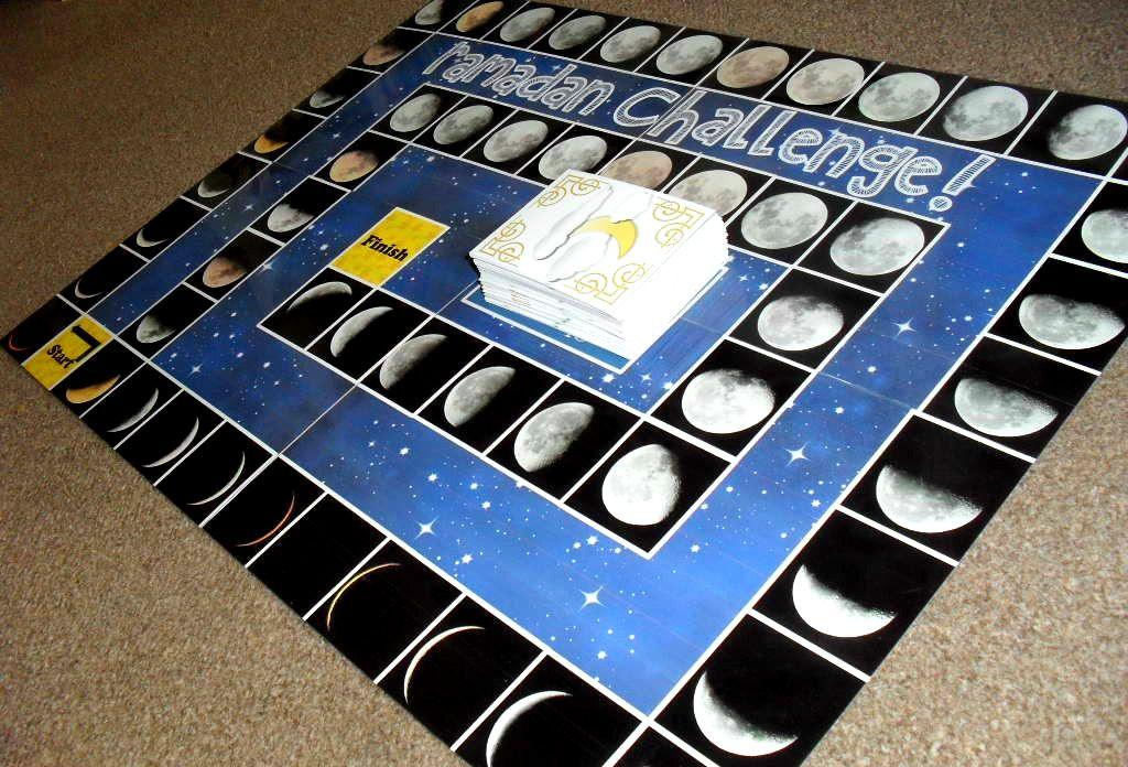 Printable Ramadan board game! Ramadan activities