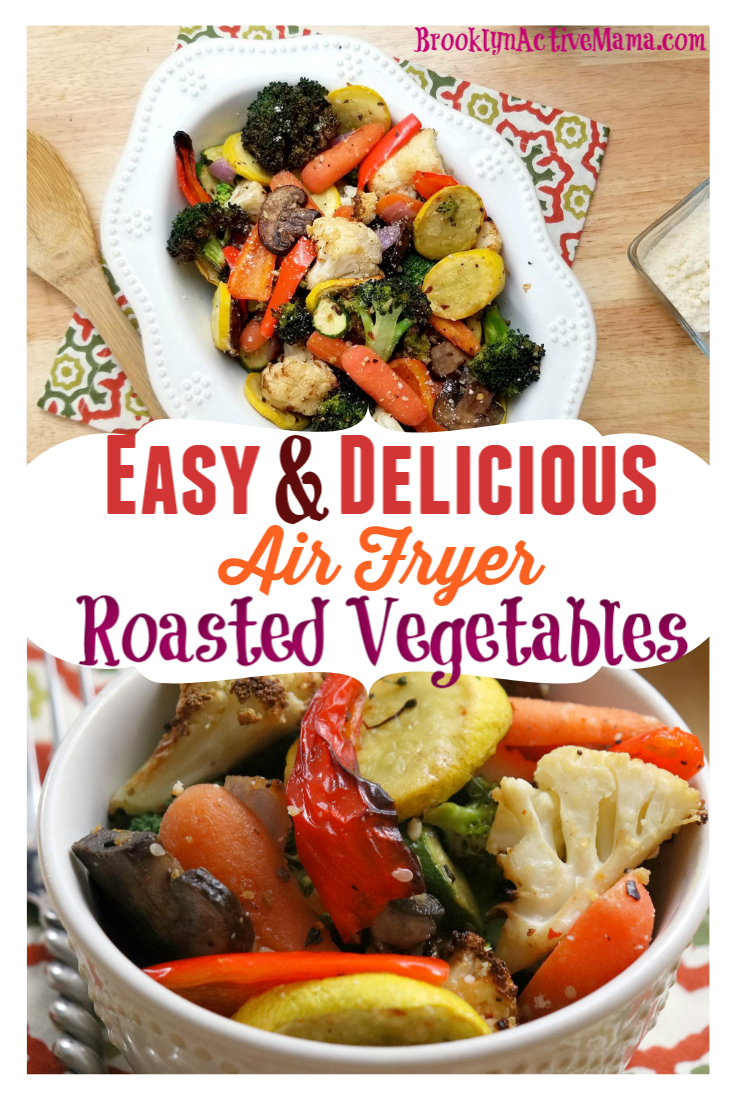 Delicious Air Fryer Roasted Vegetables Recipe