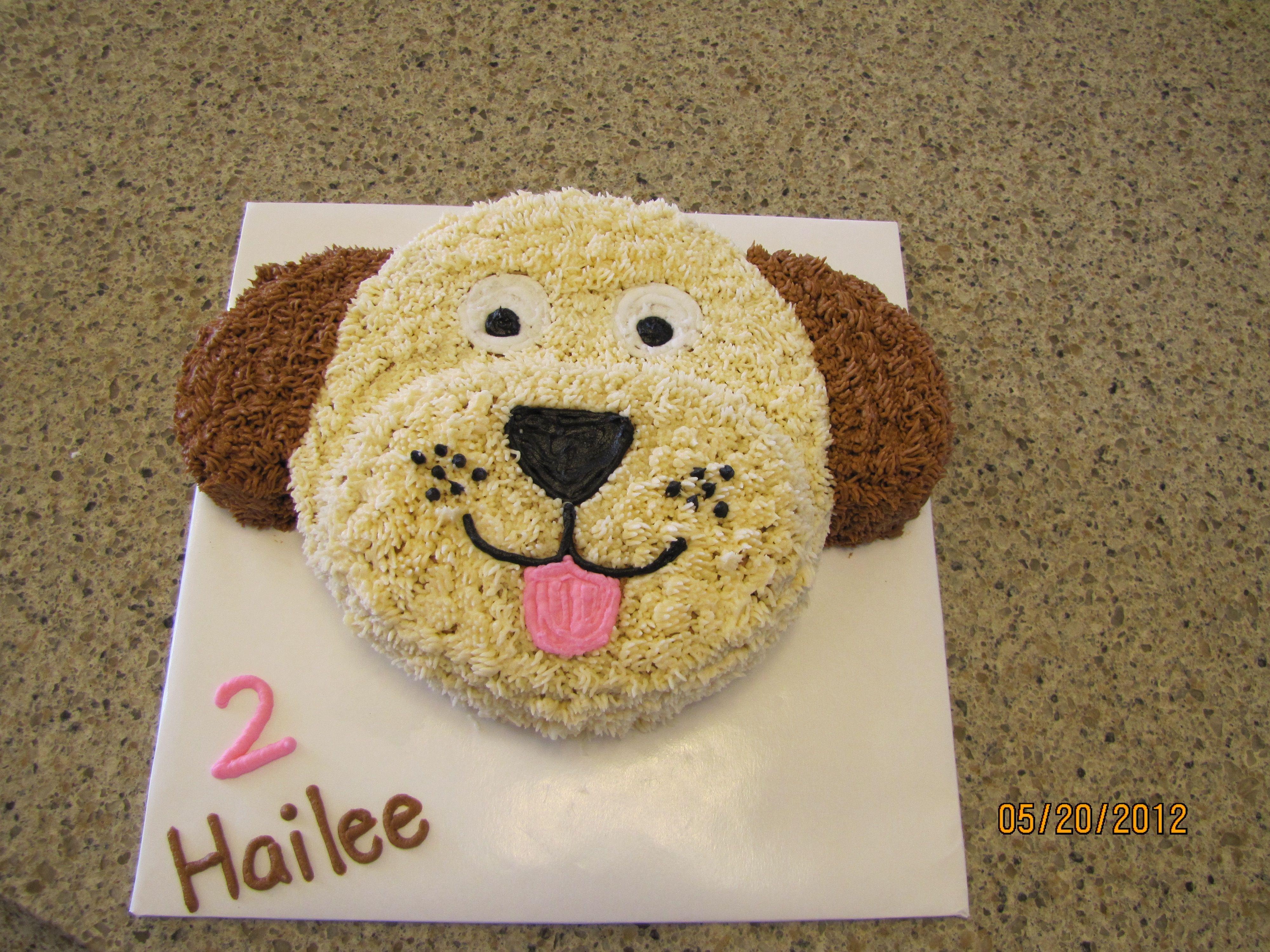 Haileeus puppy cake gâteau chien pinterest puppy cake cake
