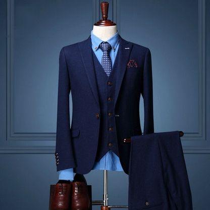 Brand Clothing Coat Pant Design Wedding Suits For Men Wedding Groom ...