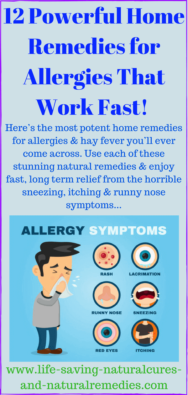 Best Natural Remedies Home Treatments For Quick Allergy Relief Home Remedies For Allergies Allergy Remedies Natural Remedies For Allergies