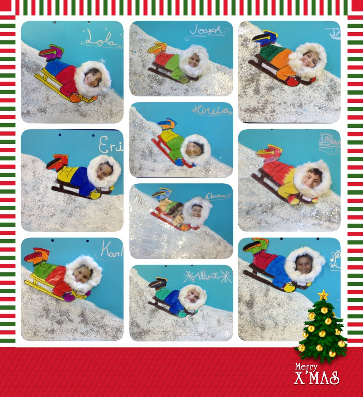 Cutest sledding project ever! | Winter crafts | Pinterest ...