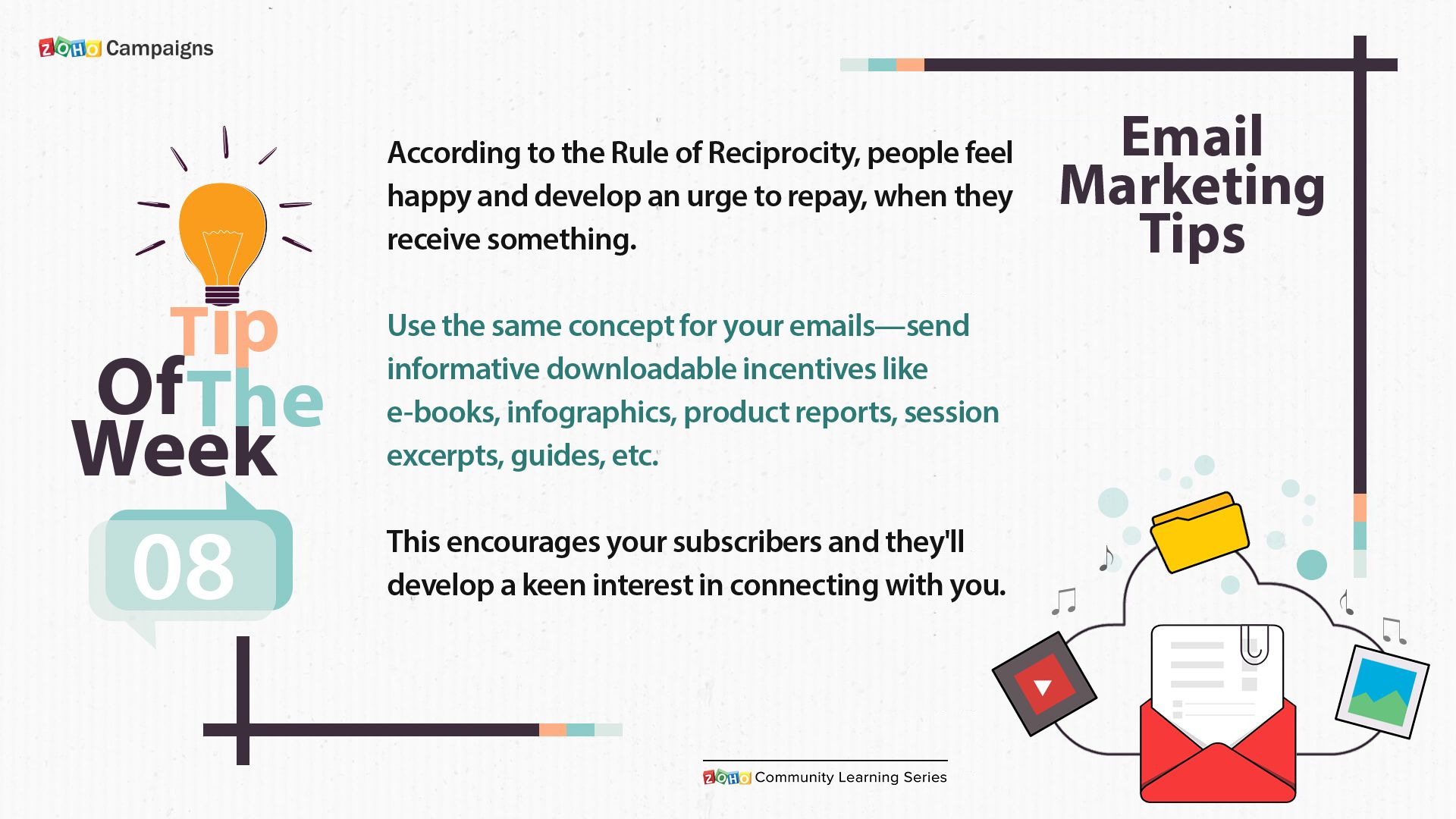 Know How The Psychology Based Rule Of Reciprocity Can Help You In Sending Rewarding Emails To Engage Your Subscribers And Win Email Marketing Psychology Email