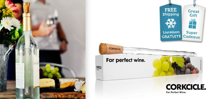 $24 for the Corkcicle Classic - Wine at the Perfect Temperature - Free Shipping ($35 Value)
