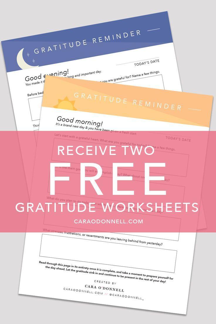 Gratitude Gratitude Journal Positivity Positive Outlook – Gratitude List Worksheet