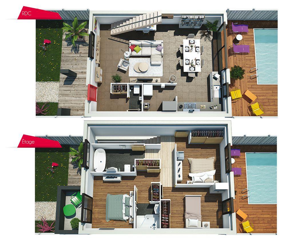 Couleurs Villa Vous Propose La Villa Soren Moderne Contemporaine